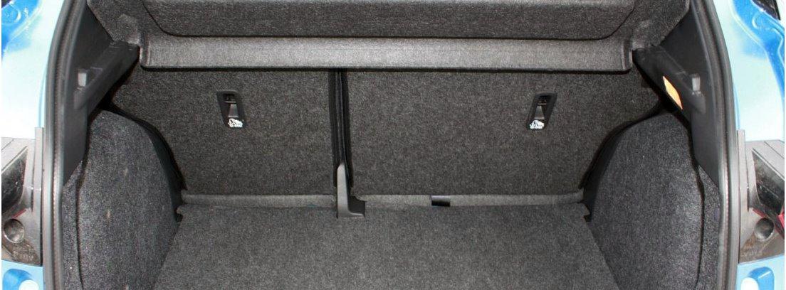 El maletero del Nissan Micra