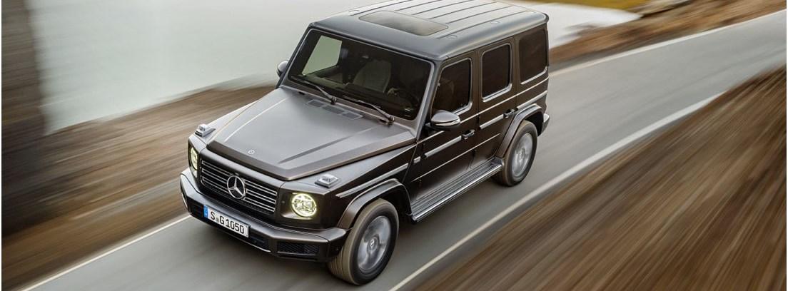 Mercedes Clase G 2018 en carretera
