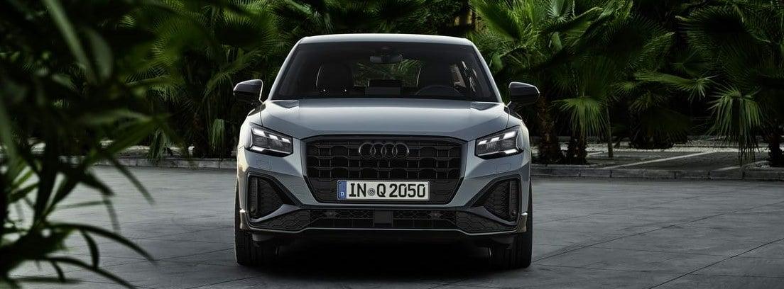 Vista frontal del nuevo Audi Q2