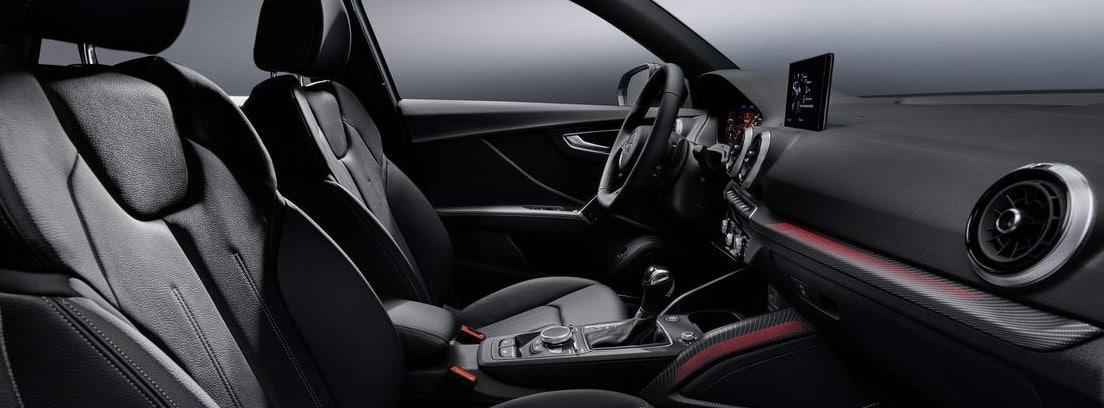 Habitáculo interior delantero del nuevo Audi Q2