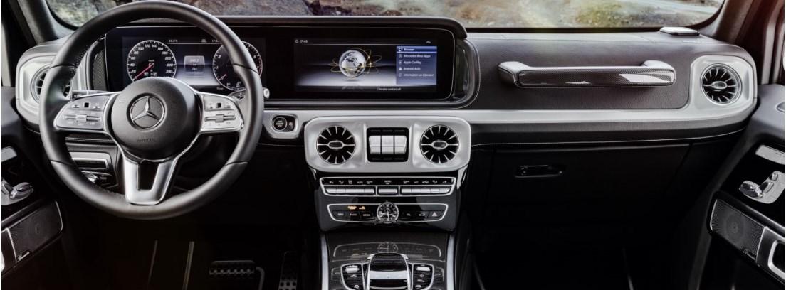"""Mercedes Clase G, estrena un """"touchpad"""" táctil"""