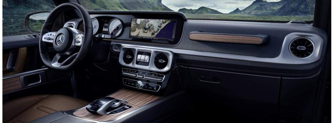 Mercedes Clase G, cambio total en el interior