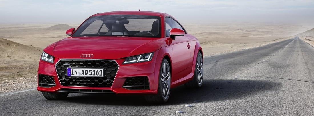 Nuevos Audi TT Coupé y Roadster, más deportivos