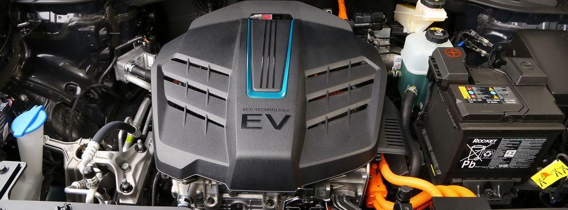 Su mecánica eléctrica es igual que la del Hyundai Kona EV