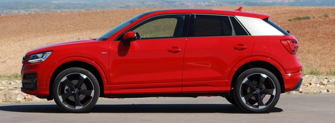 Prueba Audi Q2, vista lateral