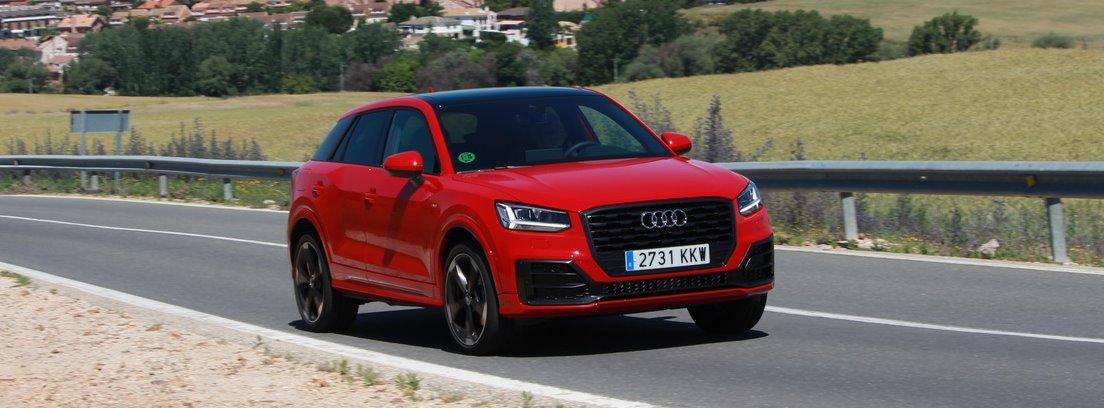 Audi Q2 en carretera