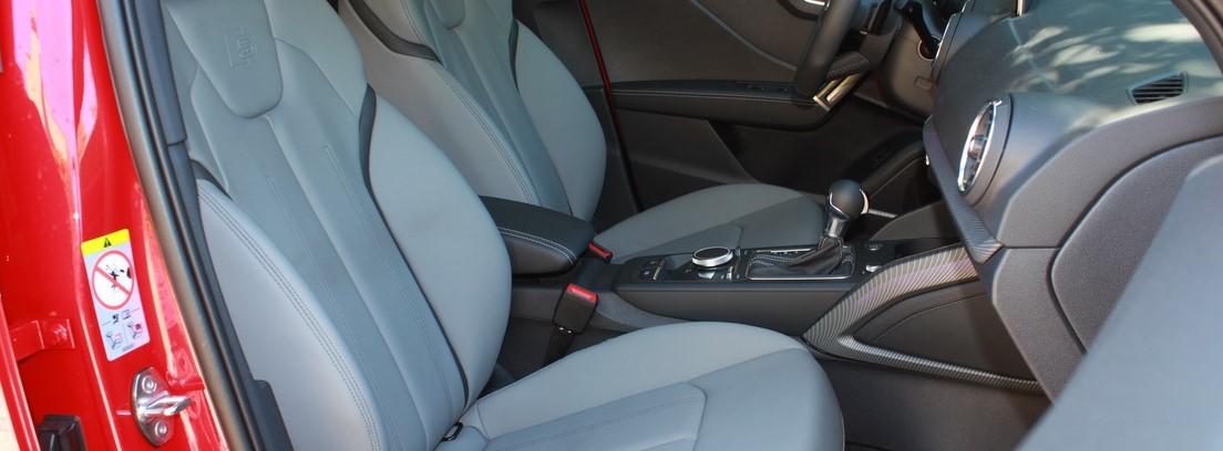 Prueba Audi Q2, puesto de conducción