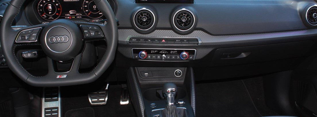 Prueba Audi Q2 consola central