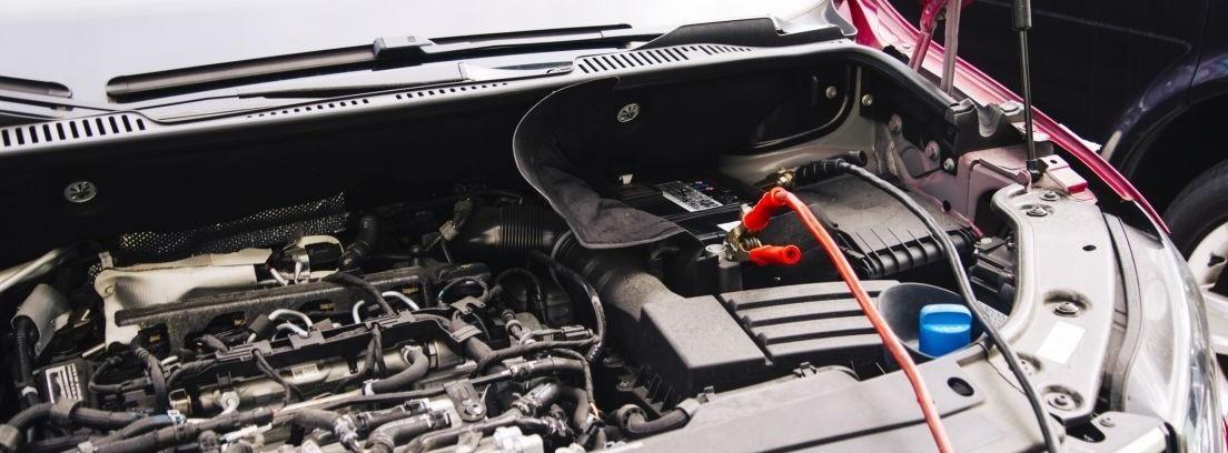 batería de un coche