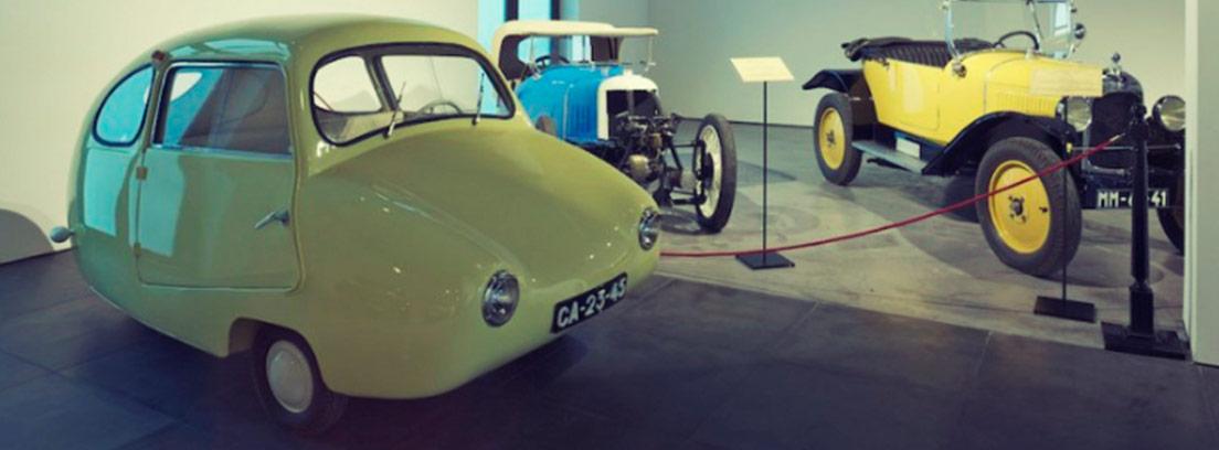 Colección de coches populares del Museo Automovilístico de Málaga