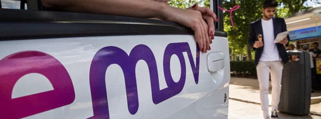 Puerta de un coche Emov
