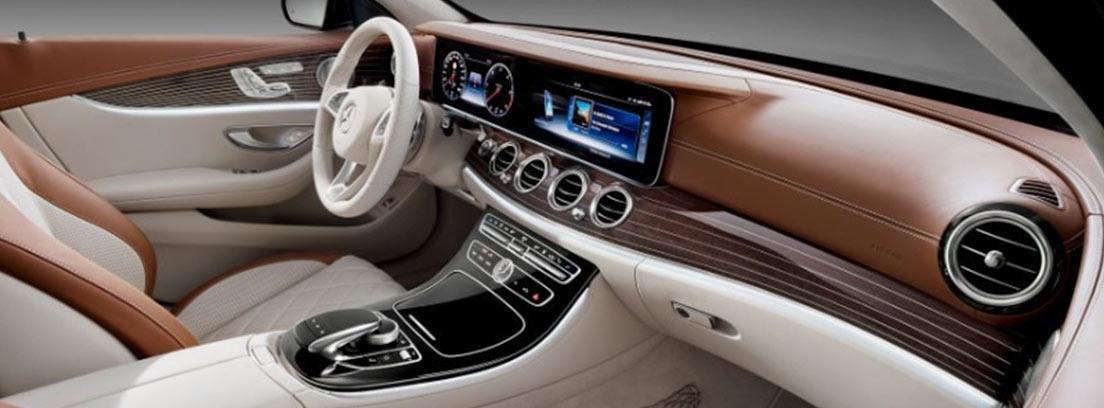 Interior del Mercedes Clase E Estate