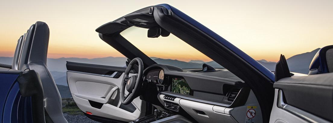 Porsche 911 Cabrio abierto