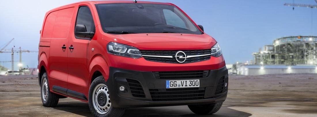 La tercera generación del Opel Vivaro