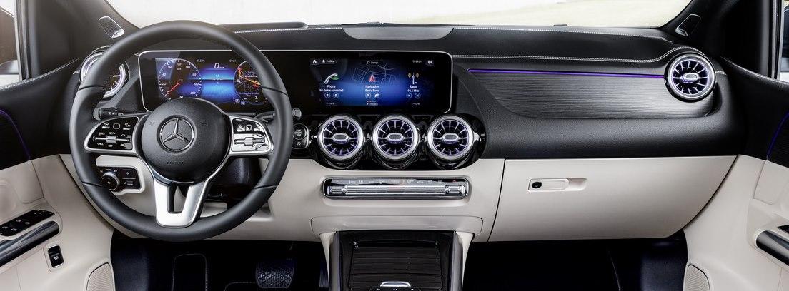 Mercedes Clase B con inteligencia artificial.