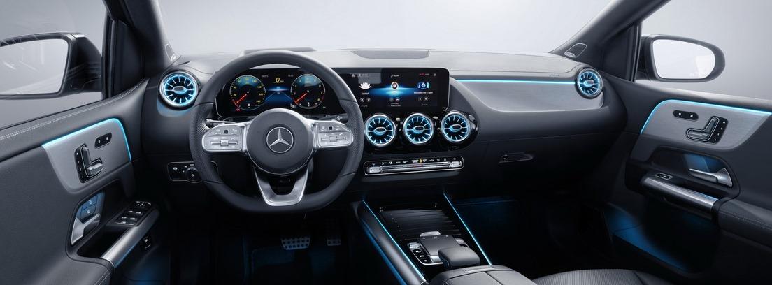 Interior del Mercedes Clase B