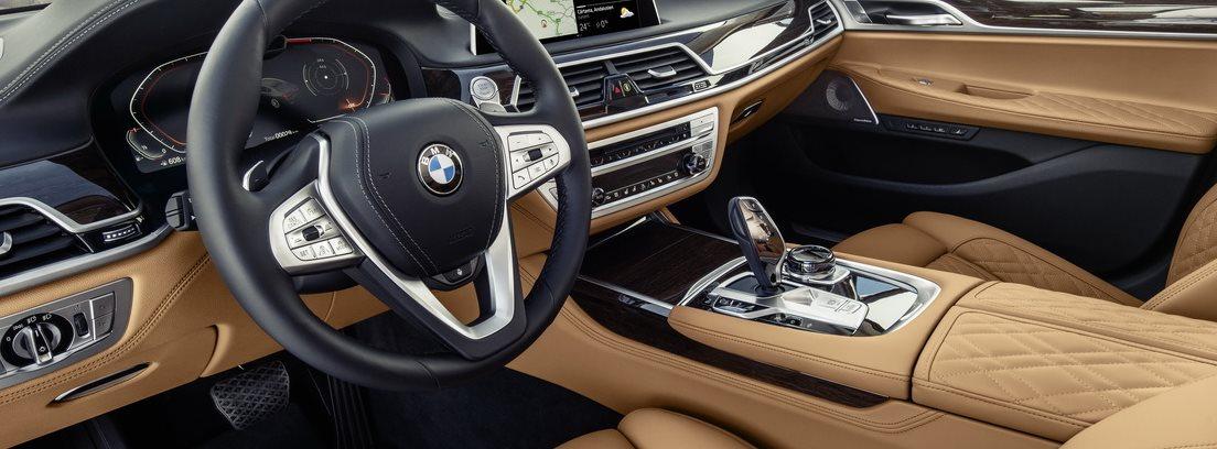 Palanca de cambios del BMW Serie 7