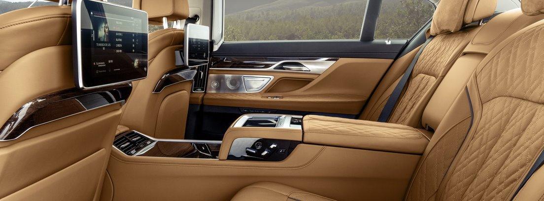 Asientos del BMW Serie 7
