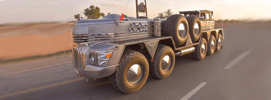 Camión de grandes dimensiones