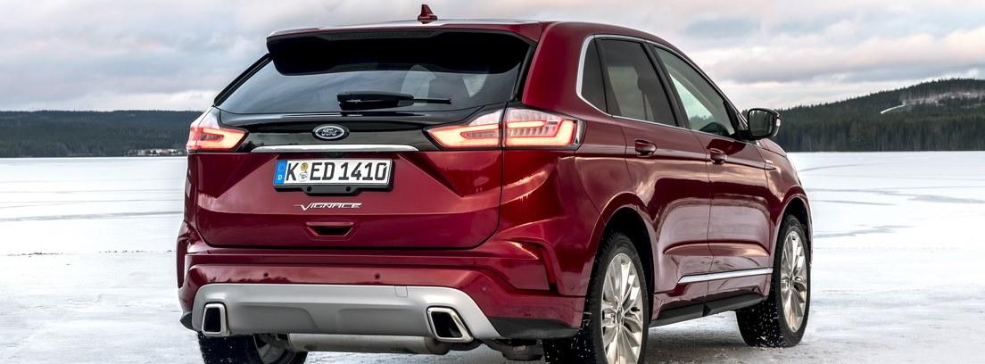 Ford Edge 2018 vista trasera