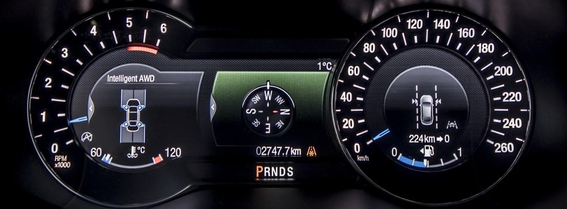 Ford Edge consola central