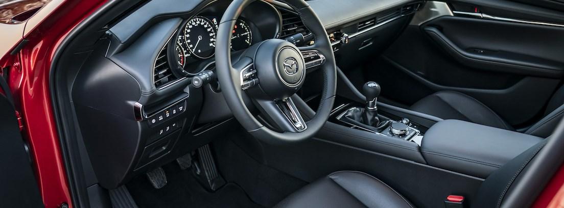 Consola del Mazda3