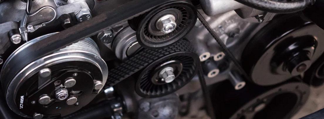 Diferentes rodamientos en un sistema de engranajes