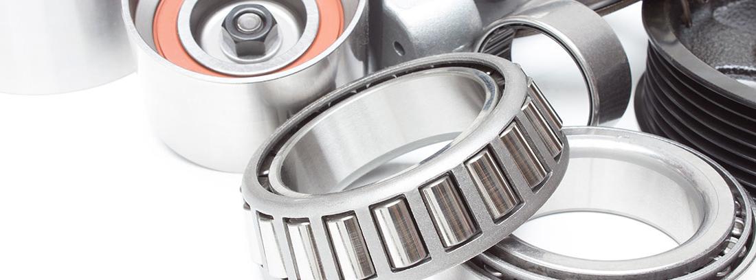 Diferentes tipos de rodamientos de acero