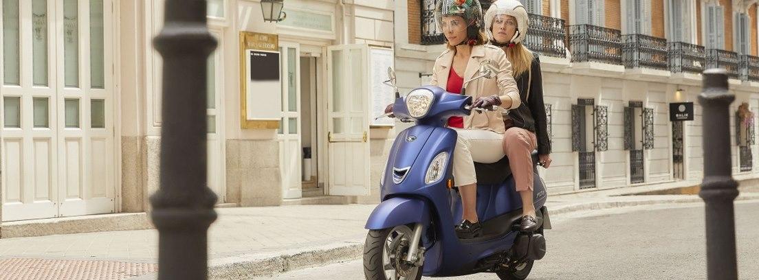 Kymco Filly. No se trata de un scooter sólo para ellas, no, nada más lejos.