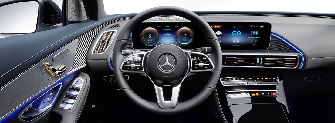 Mercedes EQC, interior
