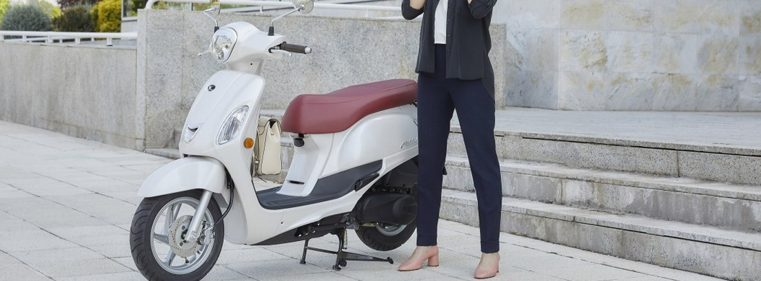 Kymco Filly, una moto ligera y manejable.