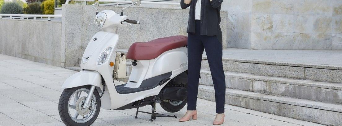 Kymco Filly, una moto ligera y manejable.