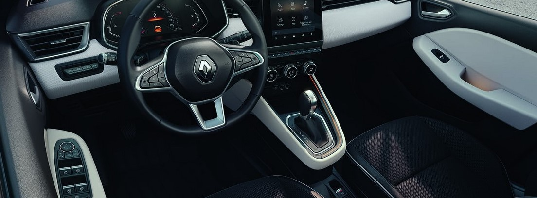 Interior del Renault Clio