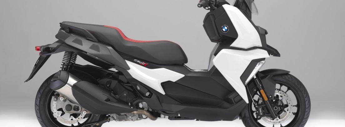 seguridad, agilidad y manejabilidad para la BMW C 400