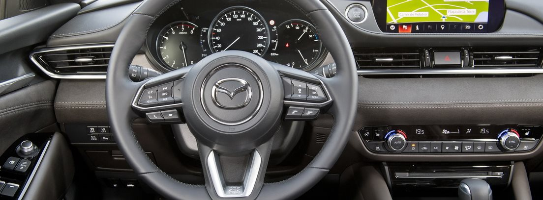 Mazda 6, interior
