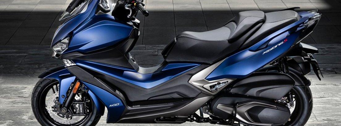 Xciting, motor monocilíndrico 4T de 400 cc