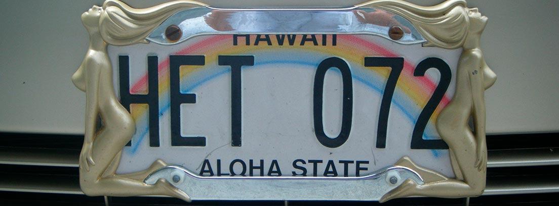 Matrícula personalizada de Hawái