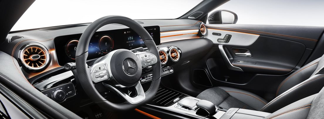 Interior del Mercedes CLA Coupe 2019