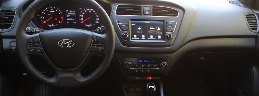 Interior del nuevo Hyundai i20