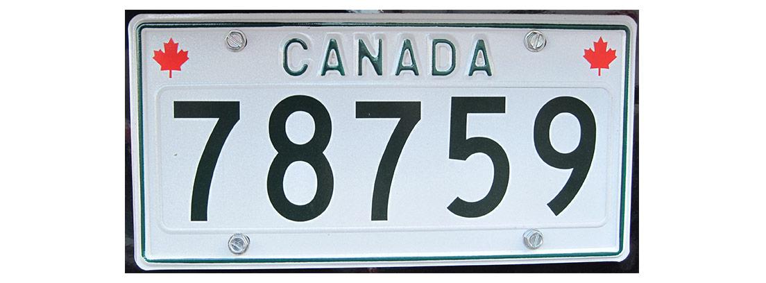 Matrícula de Canadá
