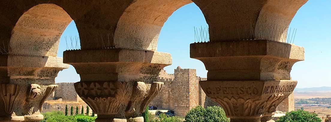 Vista monumental de la ciudad de Trujillo