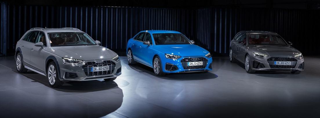 Audi A4. Los cambios estéticos son muy importantes