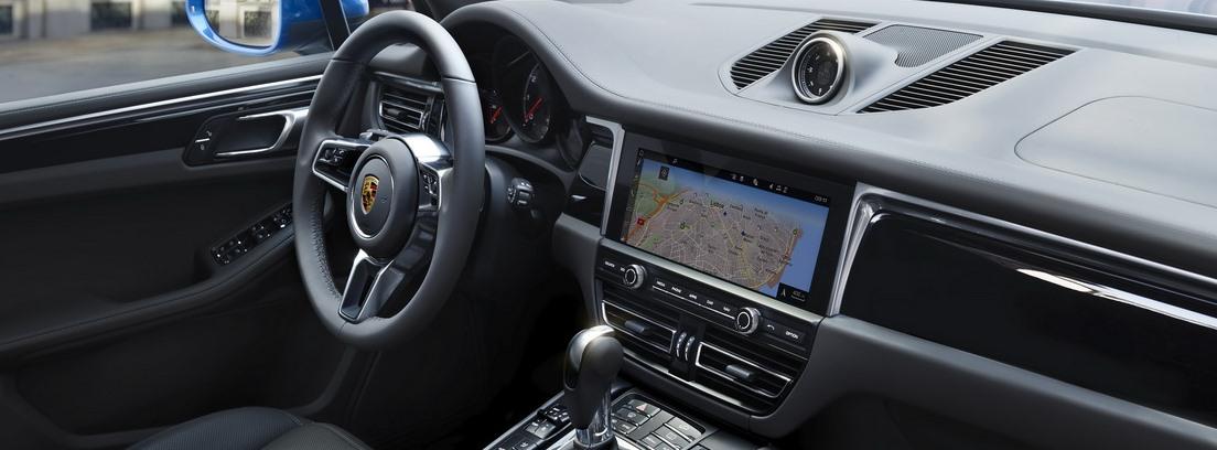 Interior de Porsche Macan