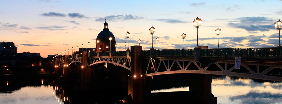 Pont- Neuf iluminado