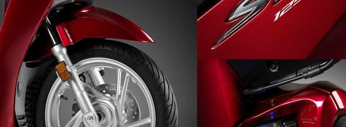 Honda_SH. Novedades en el apartado mecánico