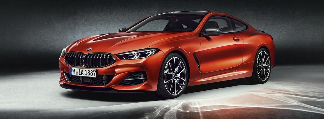 BMW Serie 8 Coupe. Interior vanguardista para cuatro