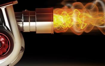 Turbocompresor de acero con fuego