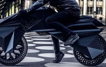 La primera moto impresa completamente en 3D