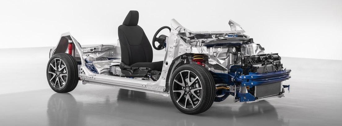 Toyota Yaris. Chasis reforzado y mayor estabilidad