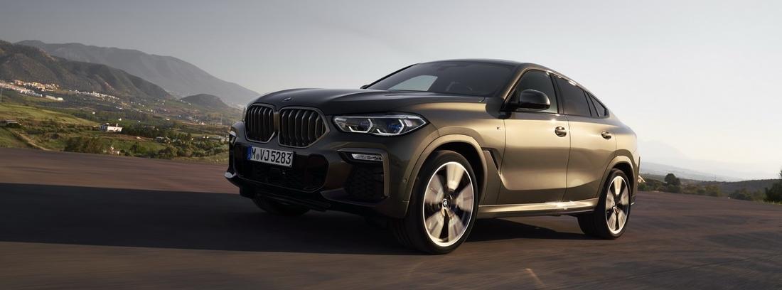 Nuevo BMW X6. Una apuesta SUV por la deportividad
